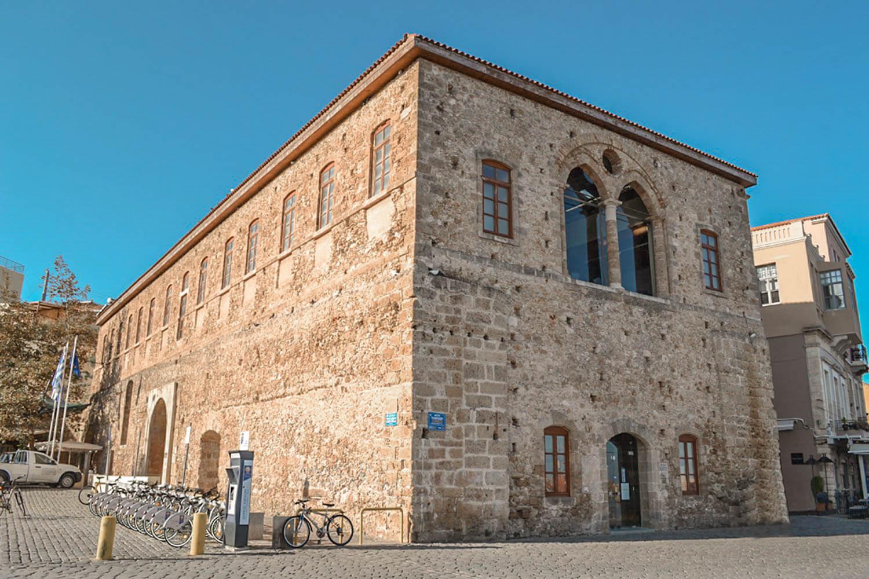 Grand Arsenal Reconstruction Chania Batakis Architects