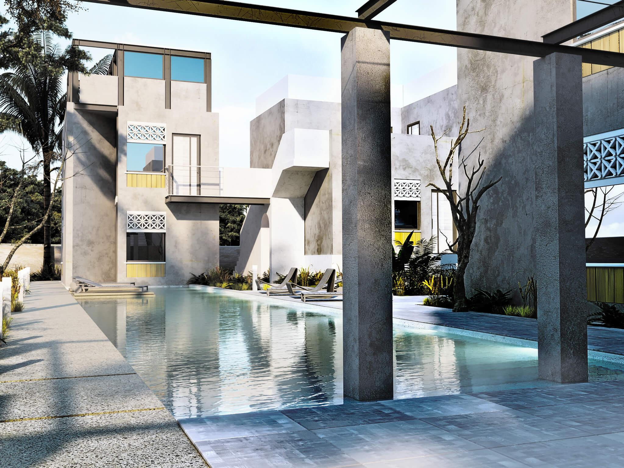 Residence Complex Profitis Ilias Batakis Architects