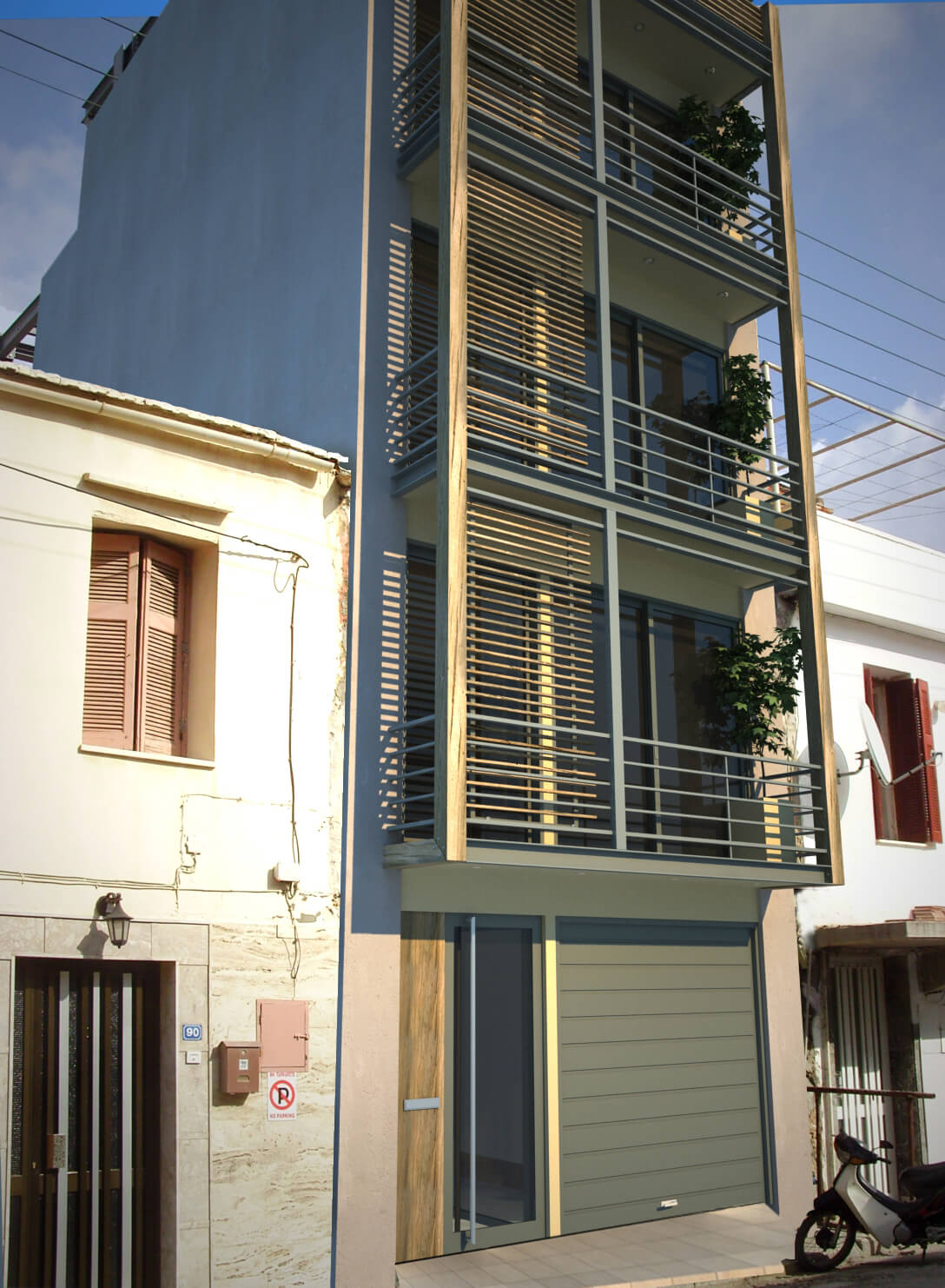 Touristic Apartments Chania Batakis Architects