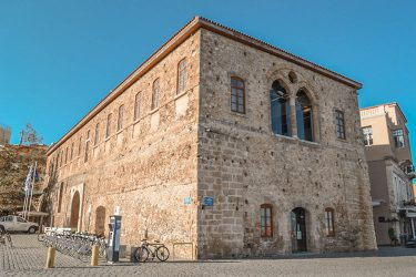 Grand Arsenal Reconstruction Chania Batakis Architects